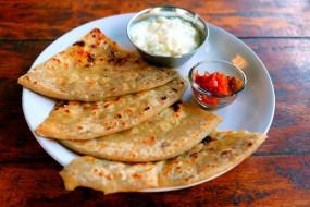 блины, индийская, кухня, соус
