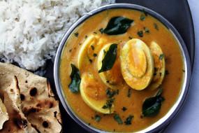 индийская, лепешка, рис, яйца, кухня