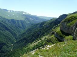 ущелье, Лаго- Наки, горы, Россия, скалы, Кавказ