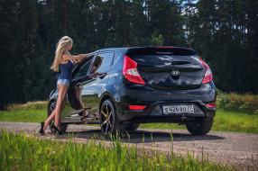 автомобили, -авто с девушками, elena, solaris