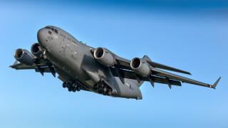 boeing c-17 globemaster iii, авиация, военно-транспортные самолёты, ввс