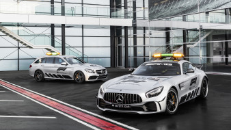 Safety, Formula-1, Car, 2018, Mercedes-Benz, AMG, GT-R