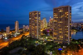 surfers paradise,  gold coast, города, брисбен , австралия, простор