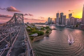 quintessential brisbane, города, брисбен , австралия, простор