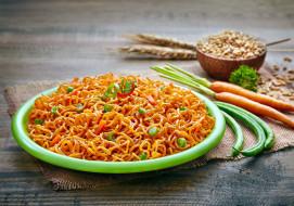 спагетти, индийская, кухня