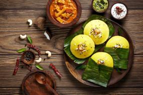 индийская, кухня, оладьи, соусы