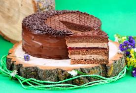 торт, шоколад, лакомство