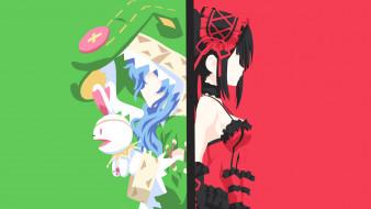 аниме, date a live, девушки