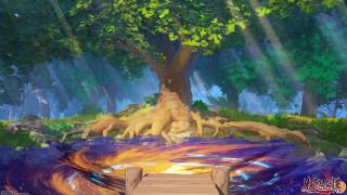 аниме, пейзажи,  природа, пейзаж