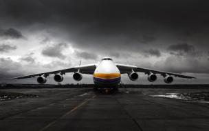 антонов ан-225 мрия, антонов, 4k, airport, грузовой самолет, аэропорт, ан 225, transport aircraft, украина, cargo plane, сossack, ан-225