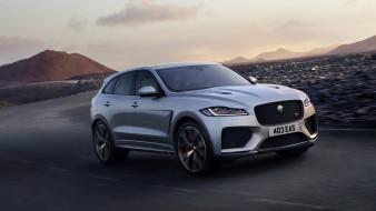 Jaguar F-PACE SVR 2019 обои для рабочего стола 2276x1280 jaguar f-pace svr 2019, автомобили, jaguar, 2019, svr, f-pace