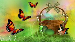 пасха, весна
