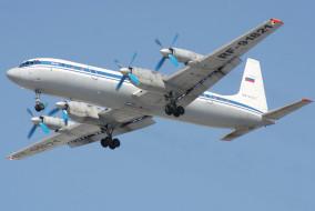 полёт, самолёт, ИЛ- 18