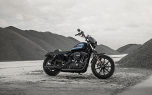 харлей дэвидсон, мотоцикл, 2018, bikes, harley davidson iron 1200