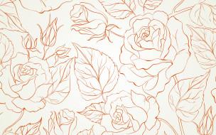 background, rose, цветы, бутоны, seamless, текстура
