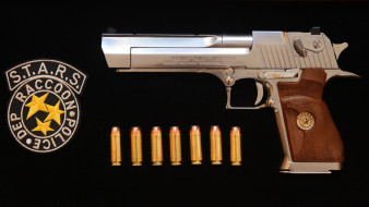 Residen Evil, Desert Eagle, оружие, weapon, Дезерт Игл, gun