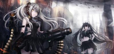 аниме, girls frontline, ouroboros, npt, akzkfhsk0503, girls, frontline, destroyer