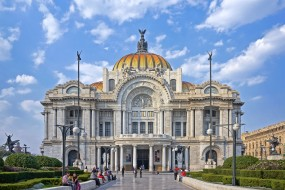 каррарский мрамор, palacio de bellas artes, оперный театр, мехико, дворец изящных искусств, мексика