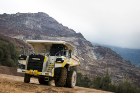 t236, грузовая техника, самосвал, полная масса 180 тонн, liebherr, горнодобывающее оборудование, землевоз, trucks