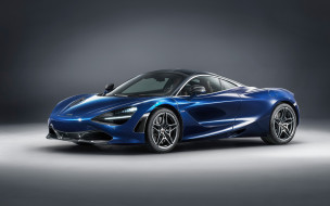 макларен, тюнинг, 2018 McLaren 720S Atlantic Blue by MSO, синий, купе