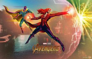 фантастика, avengers infinity war, 2018, фэнтези, рисунок, marvel, мстители война бесконечности