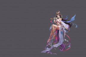 музыка, fantasy, арт, магия, девушка, флейта, игра