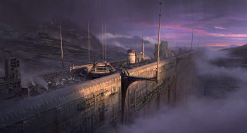 Helios, Infinity Wall, горы
