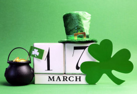 праздничные, день святого патрика, дата, шляпа