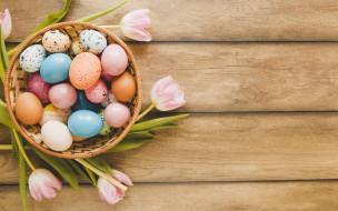 пасха, фон, яйца