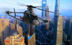 civil aviation, airbus, вертолет, авиация, future helicopters, airbus helicopters, flight, концепт, Airbus Racer