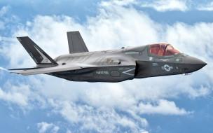 fifth generation, military aircraft, fighter-bomber, F-35, Lockheed Martin, F-35 Lightning II