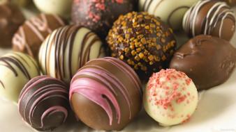 ассорти, круглые, конфеты