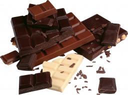 шоколад, куски, плитки