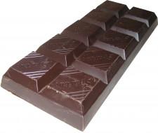 плитка, темный, шоколад