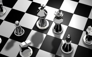 доска, шахматы, фигуры