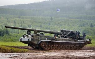 самоходная пушка, объект 216, вооруженные силы россии, 2С7 Пион, 203 мм, кировский завод