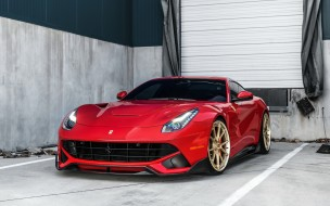 anrky wheels, ferrari, феррари, купе, литье, red, sports, 2018, f12berlinetta, coupe, тюнинг