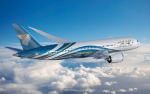 boeing 787 dreamliner, боинг, гражданская авиация, omar air, авиация