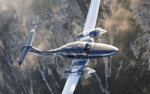 гражданская авиация, diamond da62, flight, двухмоторный самолет, частный самолет, полет, композиционный, diamond aircraft, private jet
