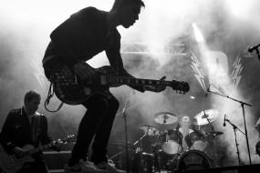 силуэт, мужчина, гитара