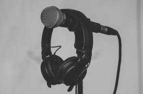 микрофон, наушники