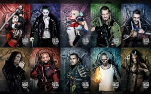 Slipknot, Will Smith, Adam Beach, Katana, Suicide Squad, Harley Quinn, Joel Kinnaman, Jared Leto, Cara Delevingne, Joker, Karen Fukuhara, Deadshot, Captain Boomerang, Killer Croc, Movie