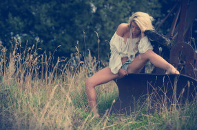 модель, девушка, Tillie Feather
