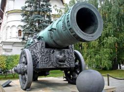 Москва, Царь- Пушка, памятник, Россия, Кремль
