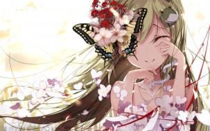 аниме, touhou, fallen, heaven, kochiya, sanae