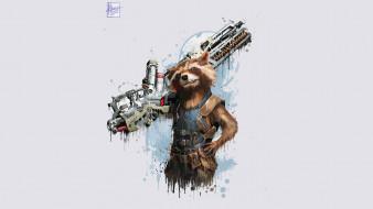 мстители война бесконечности, 2018, artwork, брэдли купер, rocket raccoon