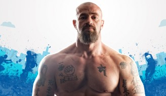 общественный деятель, спортсмен, muscle, борода, взгляд, мышцы, татуировка, Сергей Бадюк, актёр, бодибилдер, tattoo, bodybuilder