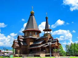Церковь, храм, Троицы Живоначальной, Минск, Белруссия, православие