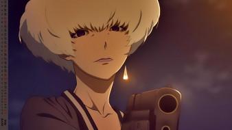 взгляд, оружие, женщина