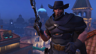 персонаж, overwatch, mccree, видеоигры, 2018